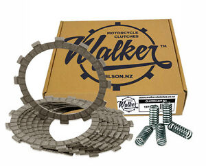 Walker Clutch Friction Plates & Springs for Kawasaki ZXR250 ZX250 A 89-91