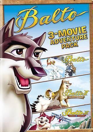 Balto: 3-Movie Family Fun Pack 1 2 3 DVD, NEW 2016 Dog Child