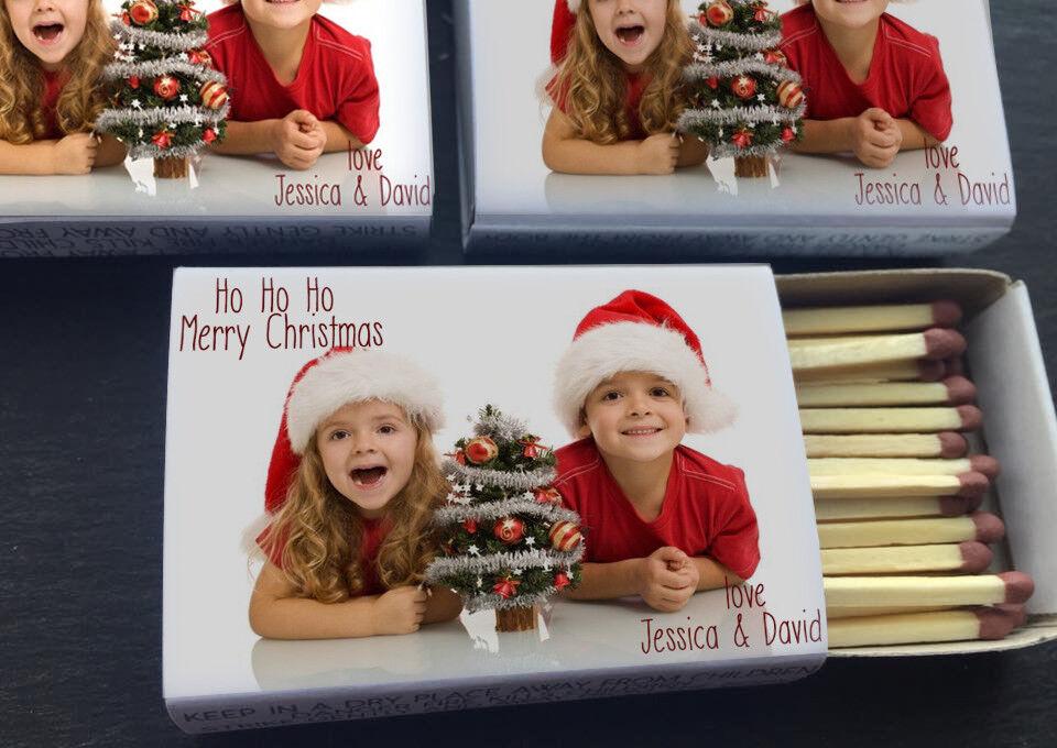 Navidad Personalizada cerillas Stocking Relleno para los padres abuelos