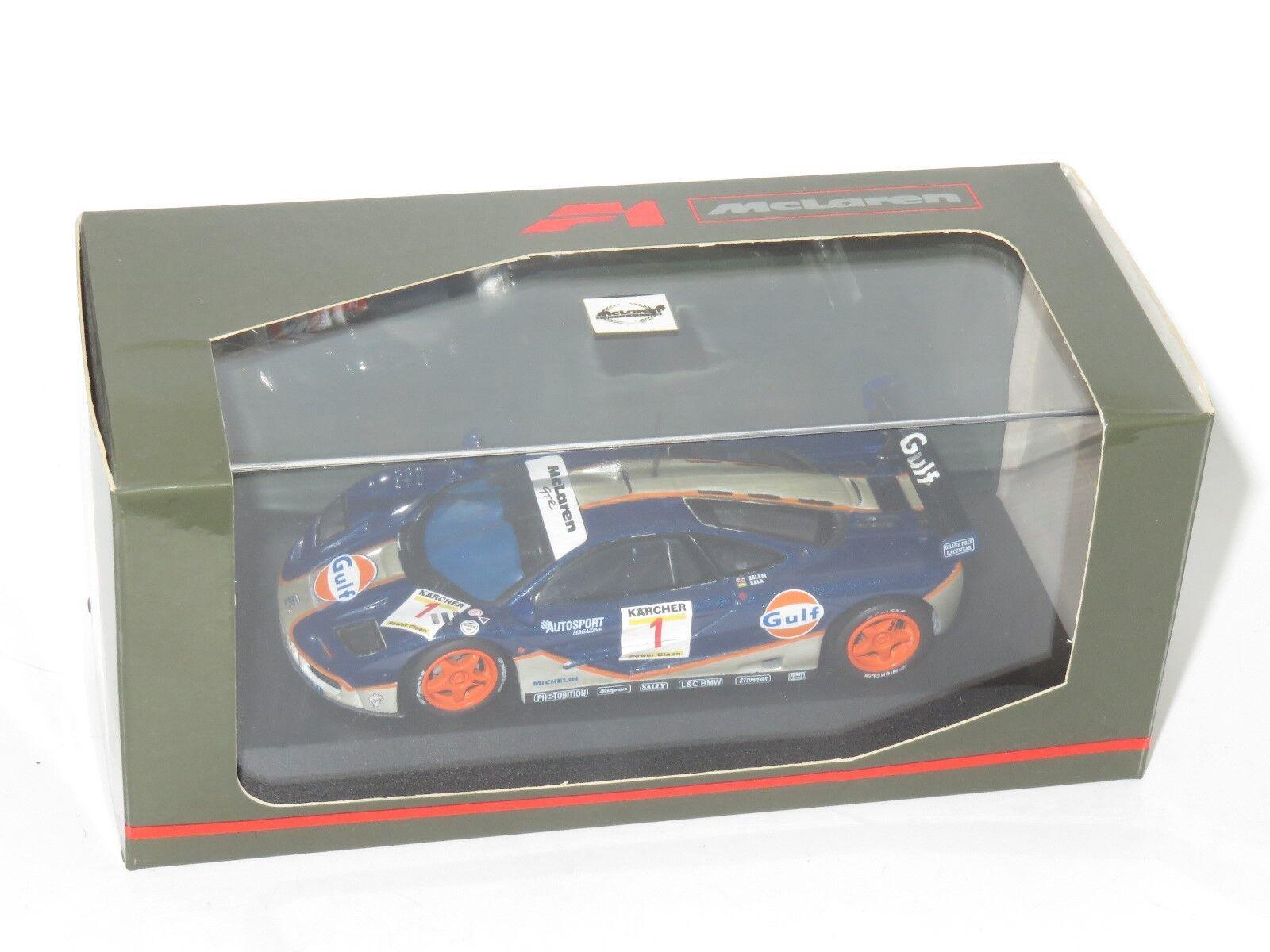 1 43 McLaren F1 GTR  BPR Series  Gulf Racing   Bellm   Sala