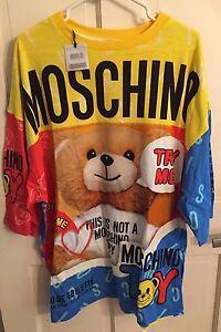db28d251c19 SALE! MOSCHINO COUTURE Teddy Bear Jersey T-Shirt Dress Ready 2 Bear ...