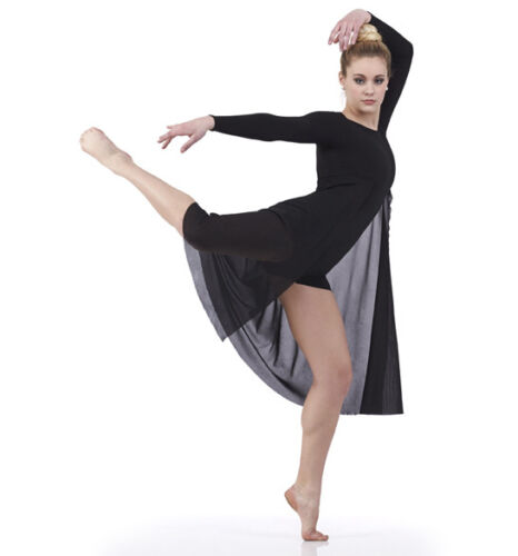 Adult 2XL Matrix Contemporary Dance Ballet Costume Lyrical Boy Short Unitard