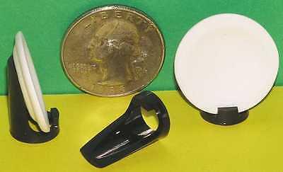 "3 Miniature Easels Size ""DE40"" Black by Tim Van Schmidt"