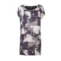 VILA Asos Graphical print t-shirt casual beach summer dress sizes XS - L