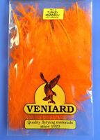 Truthahn Marabou 20 Federn Veniard Turkey Marabou large Hot Orange