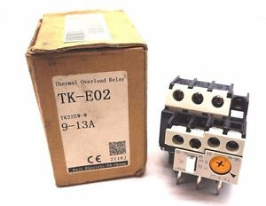 NEW FUJI ELECTRIC TK-E02 THERMAL OVERLOAD RELAY TKE02