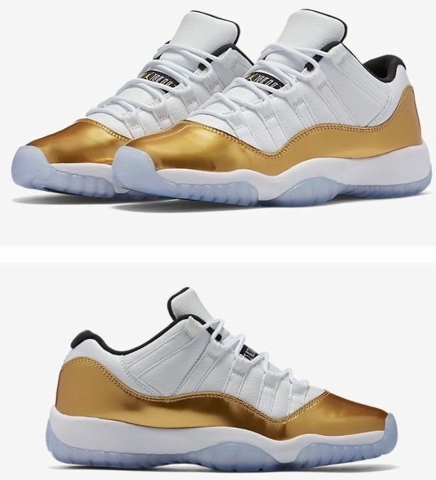 Air Jordan Retro 11 Low Gold