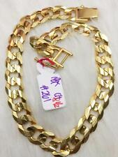 SOLID 18k Chinese Gold Chain Bracelet - 8.5 inches / 26.1 g