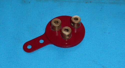meccano 1 excentrique à trois courses No130 rouge