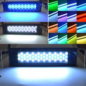 Blaue Aquarium Beleuchtung | Hi Lumen Aquarium Beleuchtung Led Weisse Blaue 3 Modi
