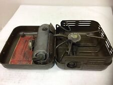 GERMAN MILITARY Enders 9061 Petrol Gas Camp Stove Vintage DATED 1962