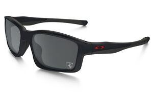 b466734610c Image is loading Oakley-Chainlink-Sunglasses-OO9247-13-Steel-Frame-Black-