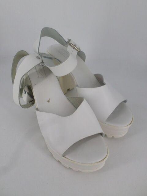 659a308df968 Topshop Lena Chunky Sole Platform Sandal White UK 6 EU 39 Ln32 63 ...