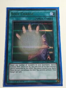DUSA-EN092-Soul-Charge-Ultra-Rare-1st-Edition-YuGiOh-Card