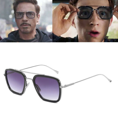 Hot Peter Parker sunglasses Spiderman Far From Home Iron-Man Glasses Movie 2019