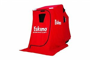 15300-Eskimo-QuickFlip-1-Portable-Flip-Style-Ice-Shelter-With-Chair-FACTORY-2ND