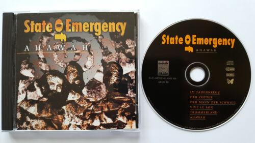 1 von 1 - █▬█ Ⓞ ▀█▀  Ⓗⓞⓣ  AHAWAH  Ⓗⓞⓣ  State Of Emergency  Ⓗⓞⓣ  6 Track CD ca. 38 Min. Ⓗⓞⓣ