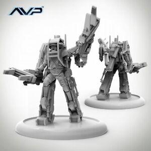 PRODOS-ALIEN-Vs-Predator-AVP-Marine-Powerloader-FIGURE