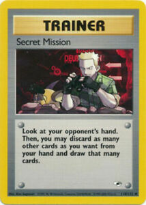 Secret-Mission-118-132-Gym-Heroes-Uncommon-Played-Pokemon-DNA-GAMES