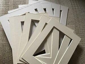 10-tonos-de-color-beige-para-montajes-de-Marco-de-Imagen-8-X-6-Pulgadas-de-6-X-4-Foto-Impresion