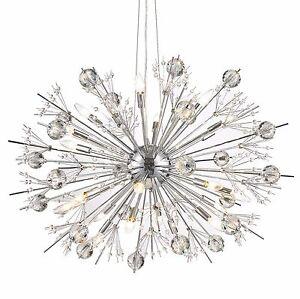 Image Is Loading Usa Brand Starburst 24 Light Crystal 36 034