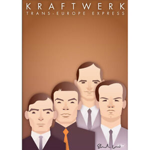 Kraftwerk by Stanley Chow - Signed and stamped archival Giclee print