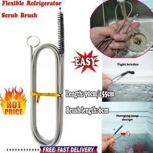 Long Flexible Refrigerator Scrub Brush-BEST