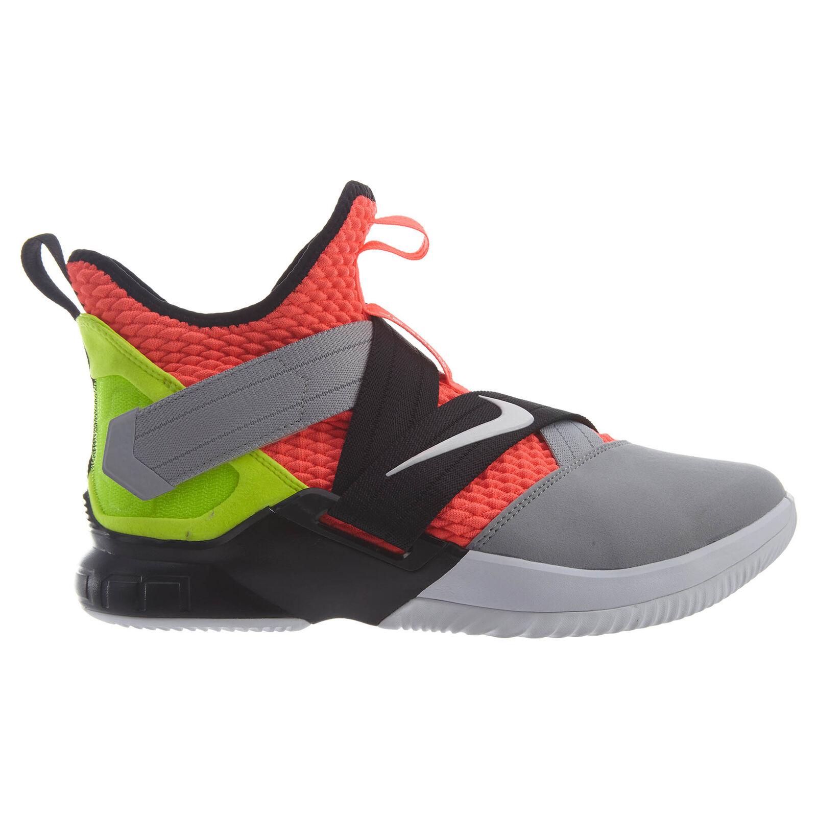 Nike lebron soldat xii sfg sfg sfg mens ao4054-800 lava grau - schwarz - volt - schuhe der größe 11. c11dd3