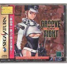USED Groove On Fight Sega Saturn SS Japan Import