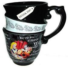 Alice In Wonderland Stacked Coffee Tea Mug Cup Disney World Theme Parks NEW