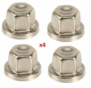4x Land Rover Defender Discovery Locking Wheel Nut Cover