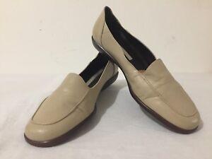 Easy-Spirit-039-LadyAnne-039-Flats-Slip-On-Shoes-Beige-Tan-Leather-Size-8-B-2A