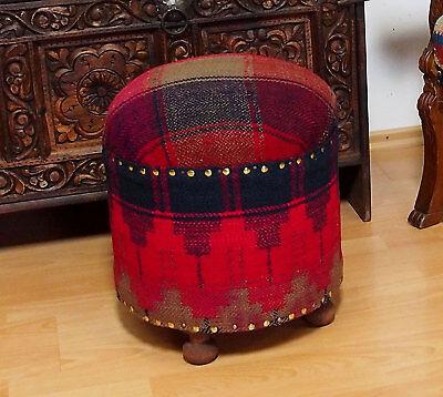 Antiquitäten & Kunst Teppiche & Flachgewebe Sunny Orient Kelim Hocker Fußhocker Sitzhocker Sitzkissen Kilim Cushion Stool Pouf Bas
