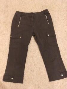 8 Marron Pantacourt Millen Pantalon Taille Karen 1 xqH1agYxwW