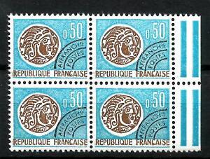 France-Preoblitere-Bloc-de-4-n-128-Neuf-luxe-1964