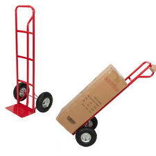 330lb Hand Truck Luggage Cart Dolly Convertible Platform Trolley Cart With2 Wheels