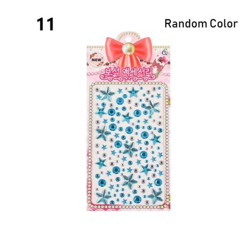 Scrapbooking Stickers Cute Notebooking Decoration Crystal Diamond Rhinestone