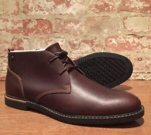 Timberland-Mens-EK-Brook-Park-Chukka-Boot-Red-Brown-Smooth-SZ-10-5M