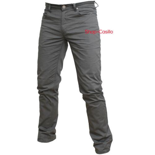 Pantalone Jeans Uomo Estivo Cotone Colorato Cinque Tasche Classico Gamba Dritta