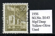 (Ref-7692) 1956  Berlin Buildings 50pf Reuter Power Station SG.B143  Used