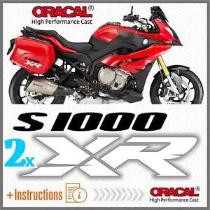 2x-S1000XR-BlackWhite-BMW-ADESIVI-S-1000-XR-PEGATINA-AUTOCOLLANT-S1000-AUFKLEBER