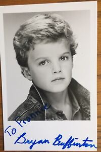 Bryan-Buffington-Signed-Inscribed-Young-Photo-4X6-Soap-Guiding-Light-Bill-Lewis