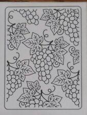 Grapes Embossing Folder Darice Folders Food,Wine,All Occasion 30008962