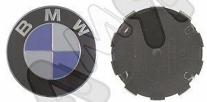 4 PZ COPPE–COPRIMOZZO–BORCHIE–CERCHI IN LEGA-PER BMW SERIE 3 /'04/>11-68mm-2570468