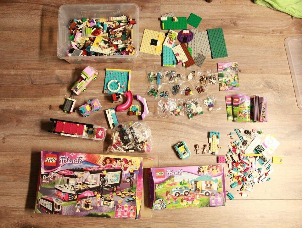 Lego Friends, 41106, 41034 + flere