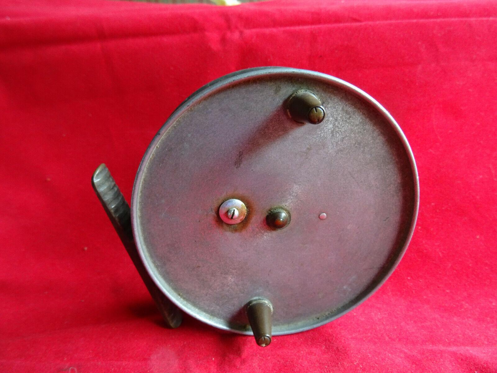 Una escasa Vintage Hardy  el Hardy Wallis  no. 1. 4  centrepin reel
