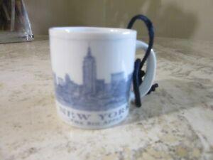 2006 New York Starbucks Been There mug ORNAMENT