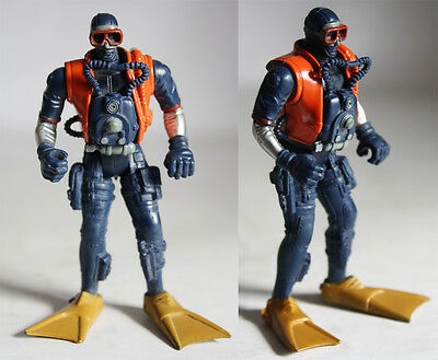 VERY RARE CHAP MEI FROGMAN DIVER DEEP SEA RESCUE MISSION G I JOE !