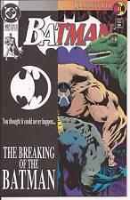 DC Batman #497 The Breaking Of Batman Bane vs Batman Knightfall 11 Direct Ed