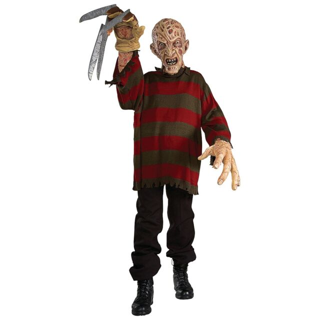 Freddy Krueger Creature Reacher Scary Halloween Monster Costume Fancy Dress
